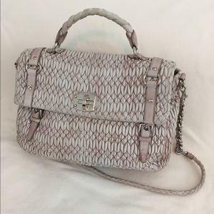MIU MIU bag. Light pink and tan. New like